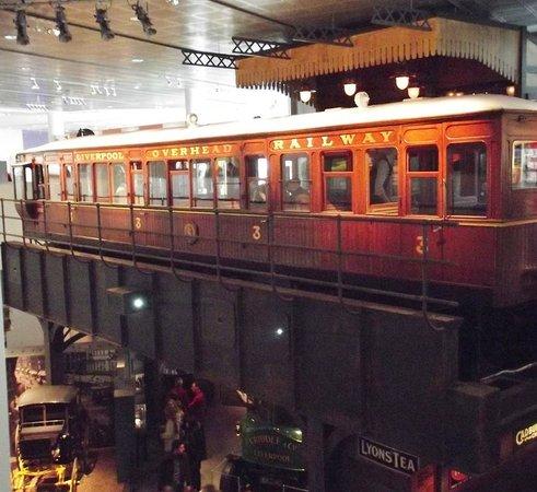 Museum of Liverpool : Liverpool Overhead Railway