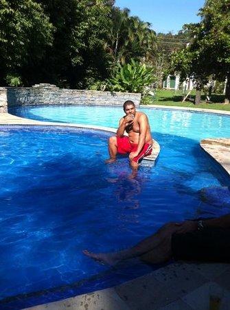 Fazenda Ribeirao Hotel De Lazer: piscina refrescante