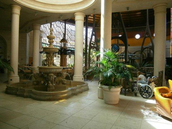 Cordial Mogan Playa: reception area