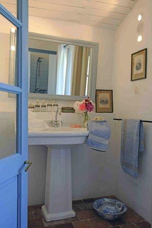 Mas de la Pierre du Coq: Salle de bain