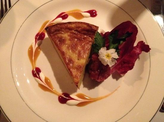Restaurant House Piccolo: Gorgonzola Cheese Tart - sensational