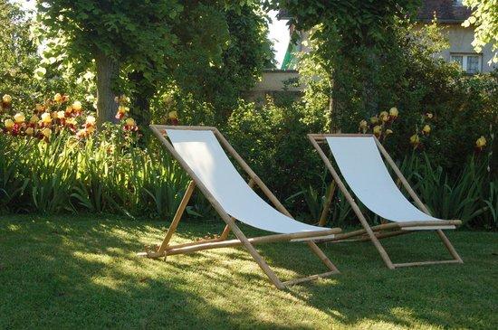 La Chaiserie: Jardin