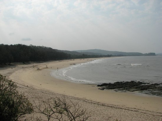 Kashid Beach: Kashid view from hill