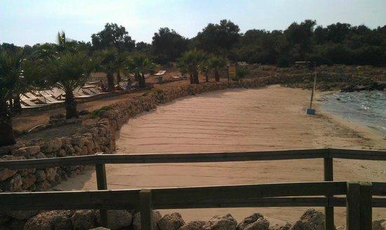 Cleopatra Island : песок Клеопатры