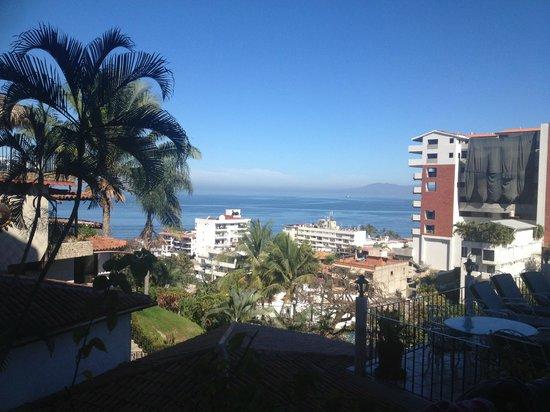 Casa Anita y Corona del Mar: VISTA HACIA EL MAR
