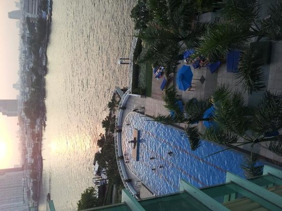 Chatrium Hotel Riverside Bangkok: view from my room