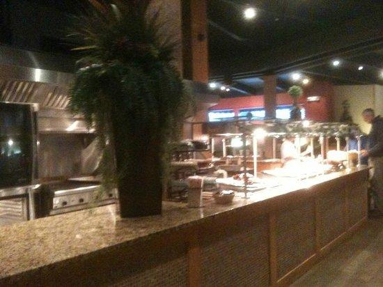 South Bonanza Buffet Company : buffet area