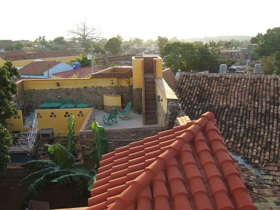 Casa Amigos del Mundo: Terrasse