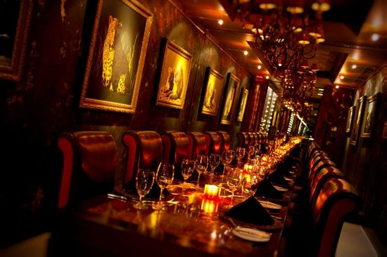 Boheme 39 s private dining wine room picture of the boheme for Best private dining rooms orlando
