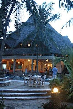 Aquarius Club: Vista veranda
