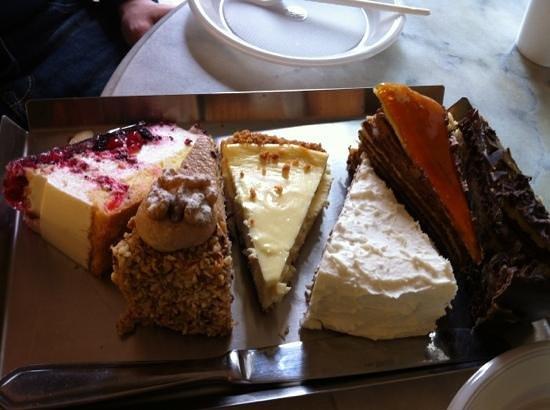 La Dolceroma: degustazione di torte!!! ;)