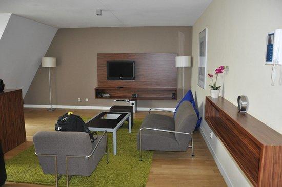 De Lastage Apartments: stue