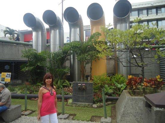 Plaza de la Cultura: La entrada a los museos
