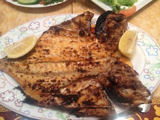 Turkish Diwan Restaurant : grilled fish