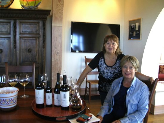 Staglin Family Vineyard: Degustación en Staglin Family con CEO de la Bodega