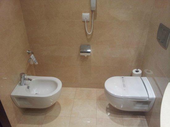 Hotel Gran Ultonia Girona: Baño nuevo y amplio