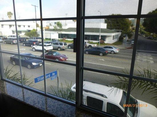 Ramada Marina Del Rey: View from room window
