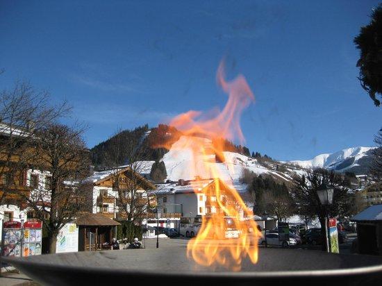 Hotel Eder: Apres Ski ca. 100m vom Hotel entfernt