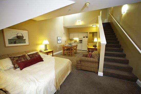 Grand Summit Resort Hotel 1 Bedroom Sleep 4 Loft Room Main Level