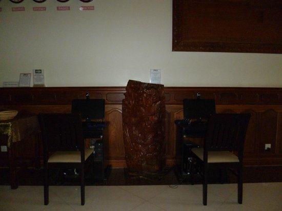 Gloria Angkor Hotel: free wifi