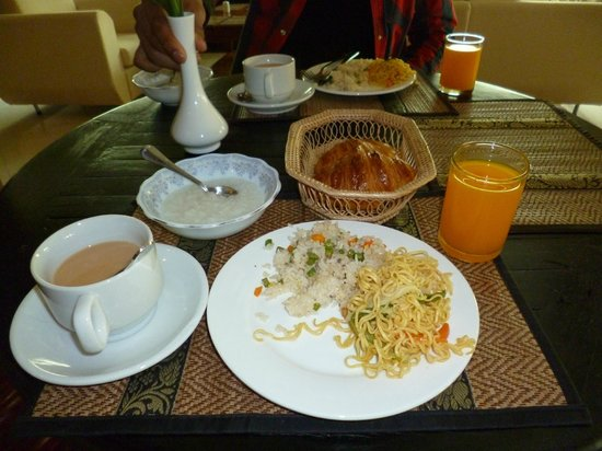 Gloria Angkor Hotel: breakfast