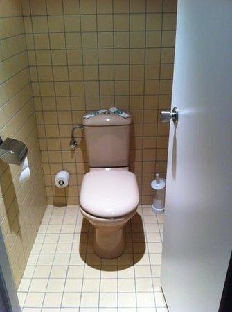 Novotel Andorra : WC estilo avión
