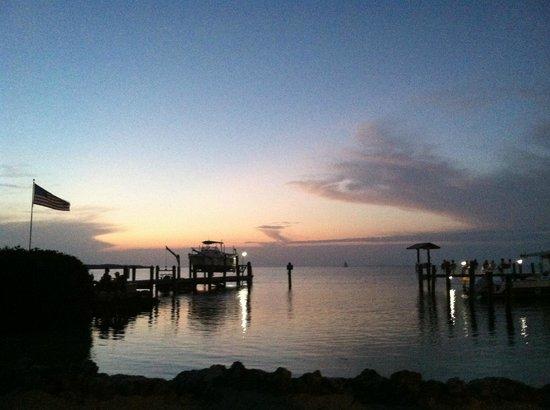 Island Bay Resort : Sunset.