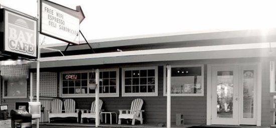 Bay Cafe at Birch Bay : The front of Bay Cafe Current