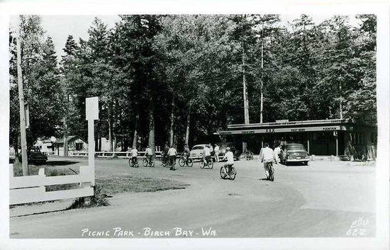 Bay Cafe at Birch Bay : Bay Cafe in the 1950's