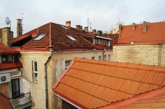 Hotel Tilto: Вид из окна