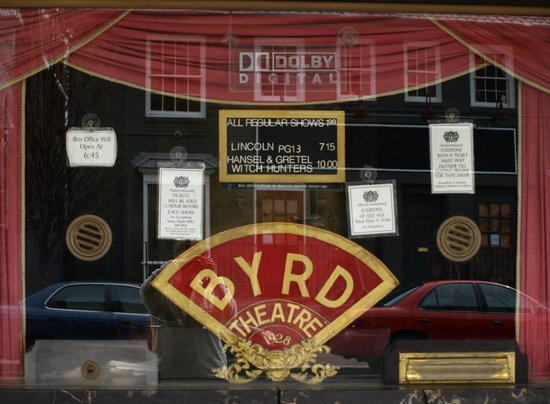 Byrd Theater : Frotnt/Marquis of Byrd Theatre