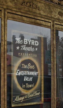 Byrd Theater : That sounds right