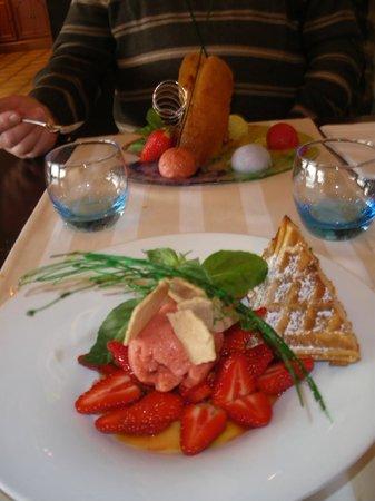 La Coquille : desserts très raffiné, d'une grande qualité gustative
