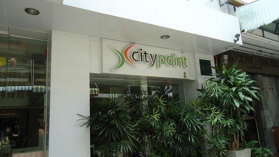 CityPoint Hotel: Hotel signage