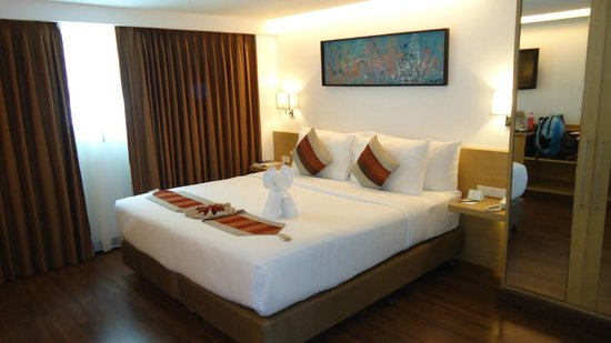 CityPoint Hotel: Our room
