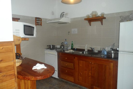 Hotel Villa Huinid Bustillo: la cocina