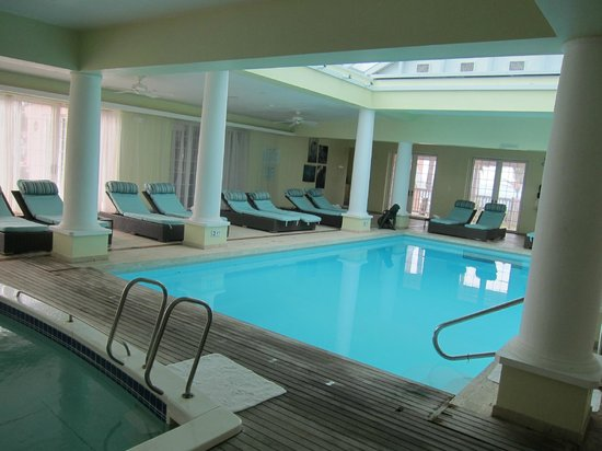 Cambridge Beaches: indoor pool, hot tub, and spa
