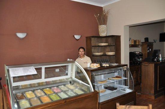 Abis Patio: Home made icecream