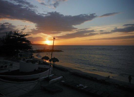Sunscape Splash Montego Bay: view from cabana balcony