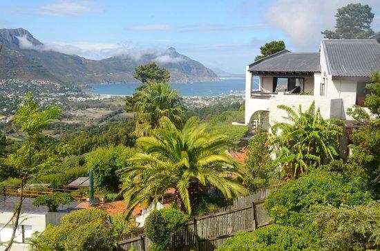 Blick vom Dreamhouse auf Hout Bay
