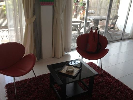 AKWA Guesthouse: the chairs