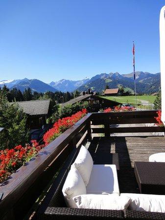 Hotel Alpenrose: Südterrasse