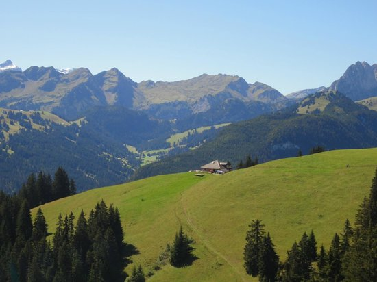 Hotel Alpenrose: Hausberg Rellerli - Talstation Bergbahn nur 200m