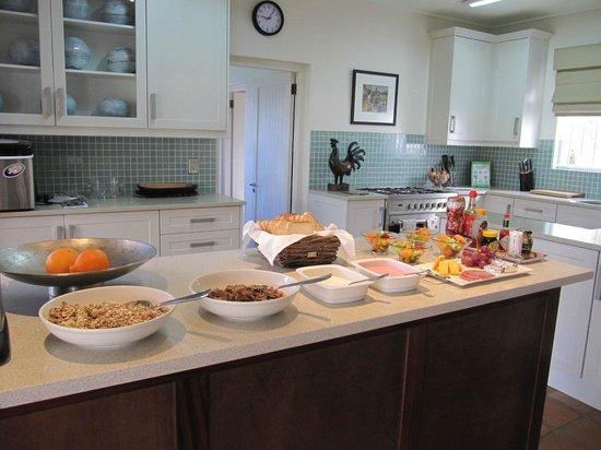 Klein Welmoed Luxury Guest House: Breakfast