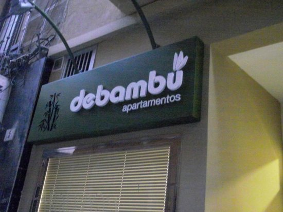 Debambú: From outside the entrance