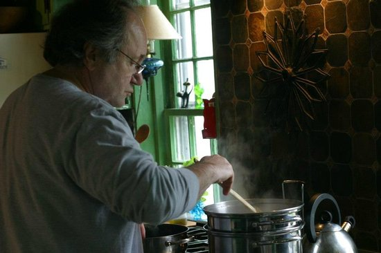 Frank's Cucina a Italian Supper Club: Chef Frank Cooking