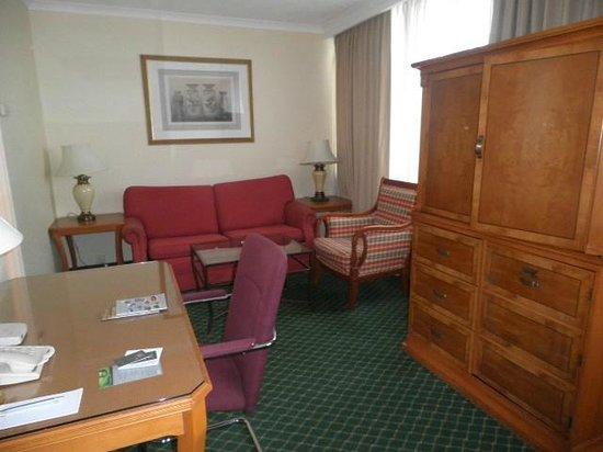 Renaissance Manchester City Centre Hotel: Sitting area