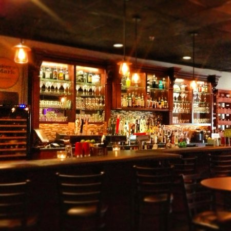 Broken Clock Gastropub : Spacious bar - with friendly and attentive bartenders.