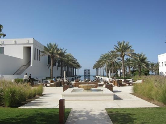 The Chedi Muscat – a GHM hotel: long pool