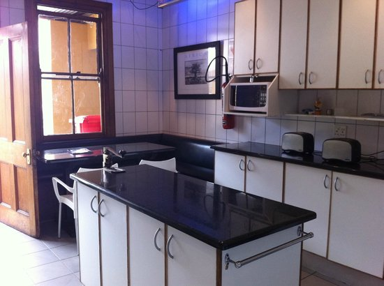 Ashanti Lodge Gardens: Kitchen